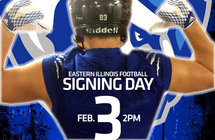 size 40 b8abb cf55a Football Signing Day Event On Wednesday - Eastern Illinois ...