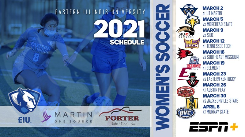 OVC Releases Women's Soccer Schedule   Eastern Illinois University